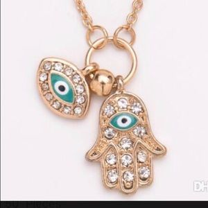 Hasma Evil Eye Necklace